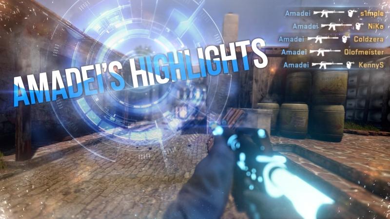 CS:GO Highlight | Ace with USP-S by Amadei | Highlight from Stream