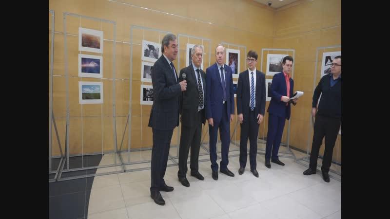 Речь Г.Н. Чеботарёва на открытии нашей фотовыставки Сибирь глазами молодёжи