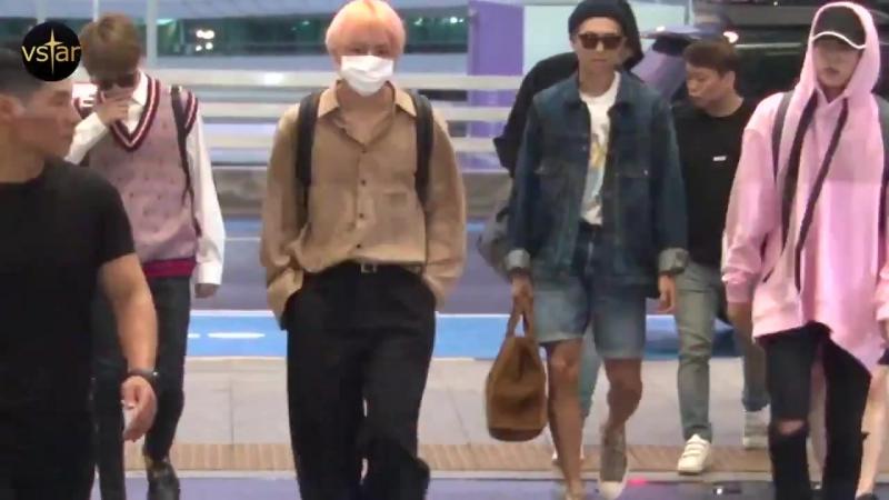 180903 Incheon Airport @ vstar