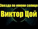 Звезда по имени солнце. Виктор Цой. Г.Донецк 05.01.2018