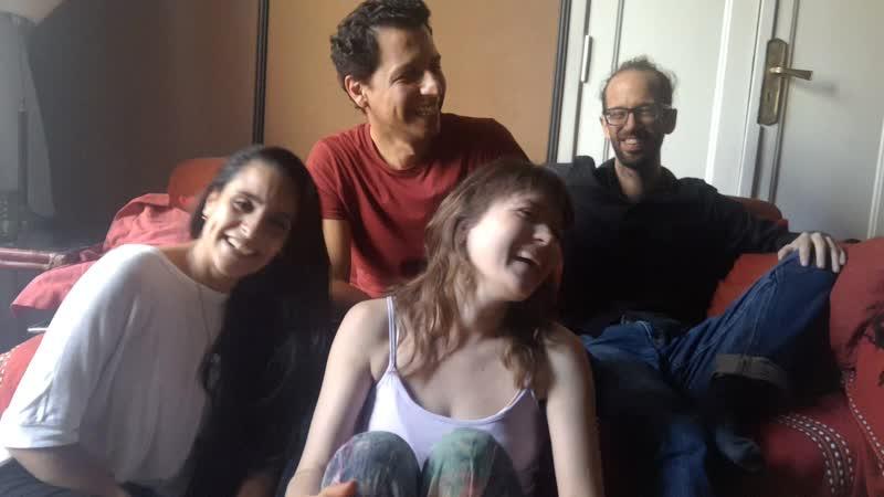 Привет из Буэнос -Айреса от Марьяна, Фелипе и семейства Драда Салазар