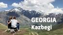 GEORGIA TRAVEL: TRIP FROM TBILISI TO INCREDIBLE KAZBEGI MOUNTAINS GVELETI WATERFALL (PERFECT DAY)