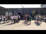 Танец с учителями Последний звонок-2017