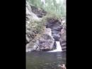 водопад дурген орук