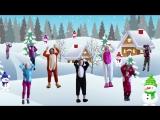 Зимняя МУЛЬТ-ЗАРЯДКА. Видео для детей. АНИМАЛИКИ. Наше всё!