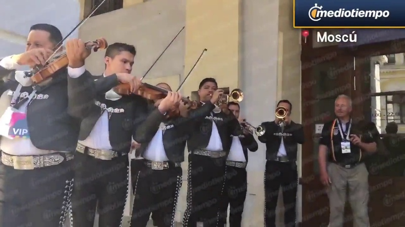 Mexicanos en Rusia2018 mex worldcup