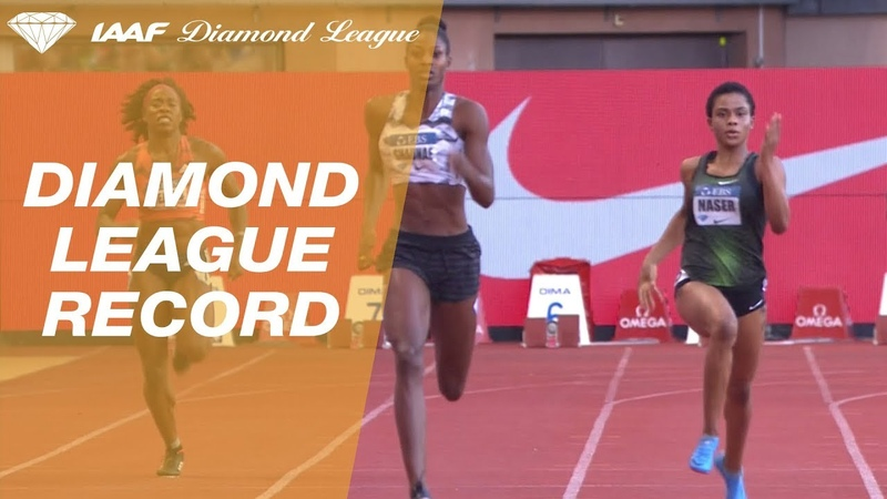 Shaunae Miller-Uibo 48.97 Wins Women's 400m - IAAF Diamond League Monaco 2018