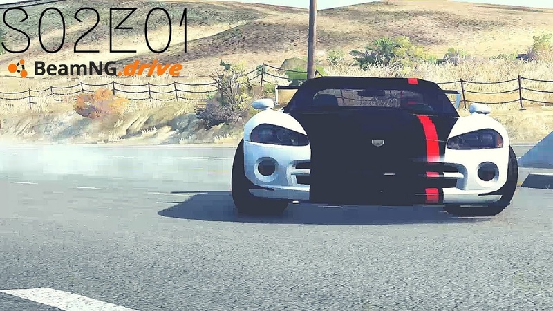 Beamng Drive Movie: Epic Police Convoy Assault (Sound Effects) |Part 11| - S02E01