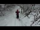 Алина на беговых лыжах