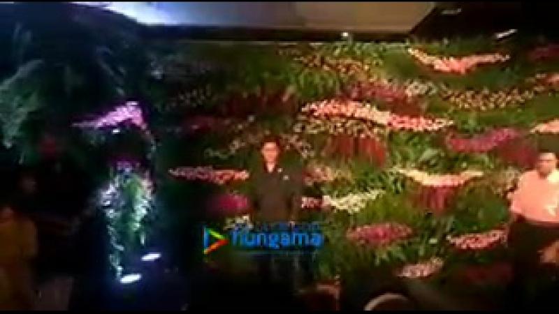 Шахрукх прибыл на торжественный прием Анушки Шарма и Вирата Кохли в Мумбаи - 2