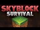 SkyBlock Пробую выживать №1 Жизьнь без булыжника