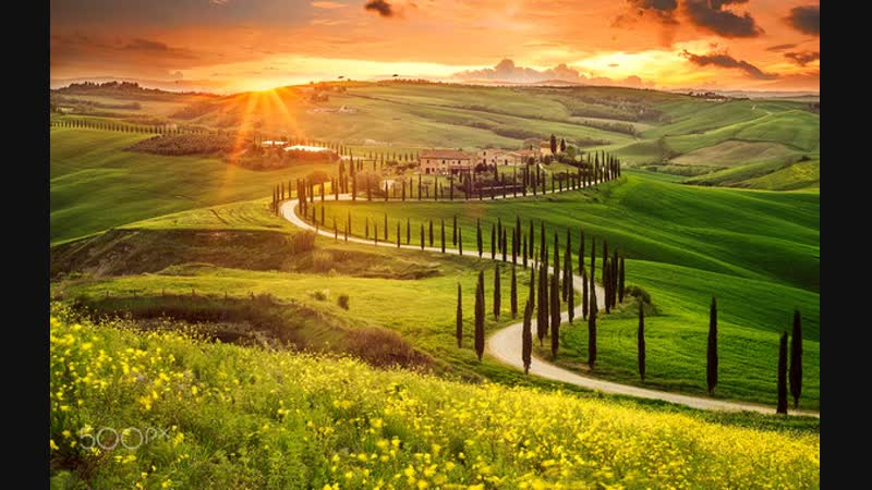 11.Прекрасная Италия_ Тоскана - от Монтериджони до Флоренции / Italy: Toscana - From Monteriggioni To Firenze _ ИТАЛКИНО