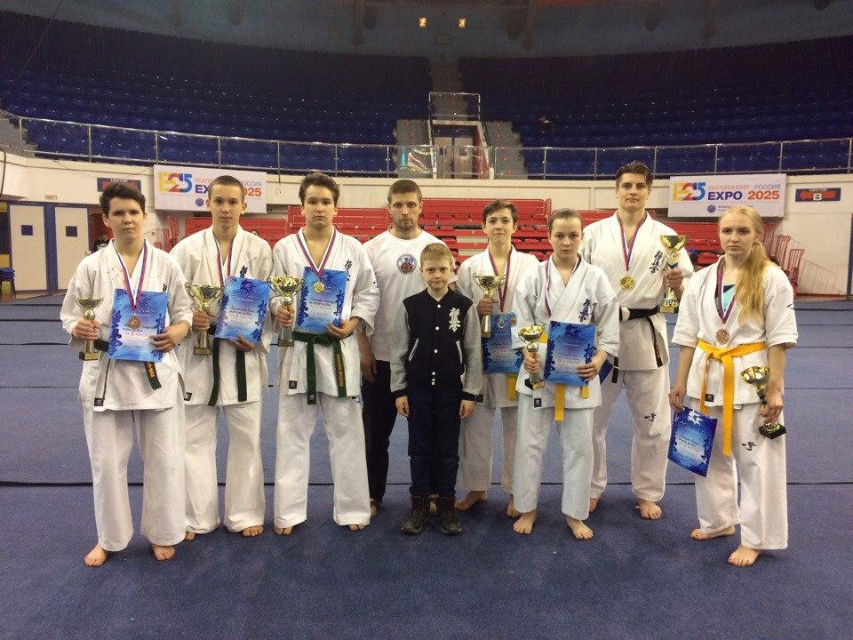 Первенство и Чемпионат Уральского Федерального округа по Киокусинкай