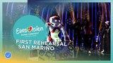 Jessika feat. Jenifer Brening - Who We Are - First Rehearsal - San Marino - Eurovision 2018