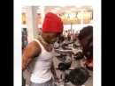 XXXTentacion тренировка в спортзале