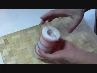 Как сделать красивые свечи своими руками Видео инструкция