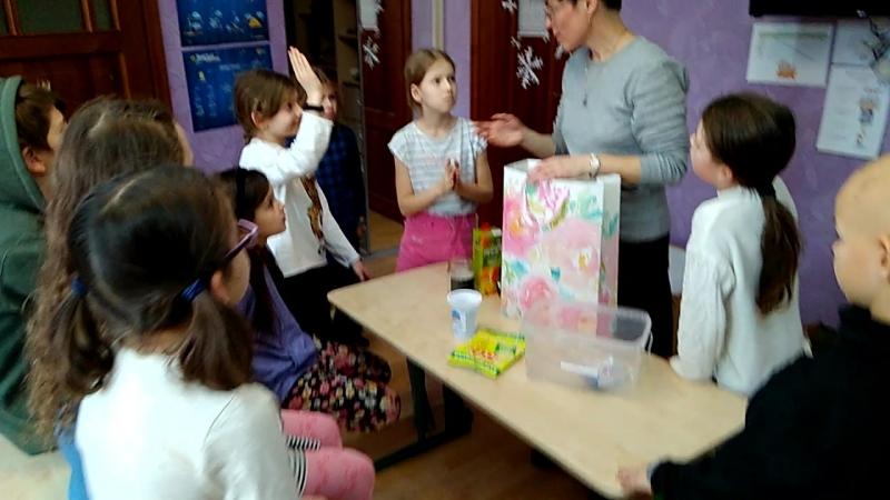 Светлана Королевская в Школе Жизни: переработка батареек