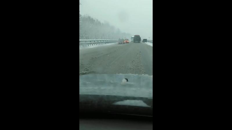 ДТП на трассе в сторону Нижнего Тагила 24.04.18