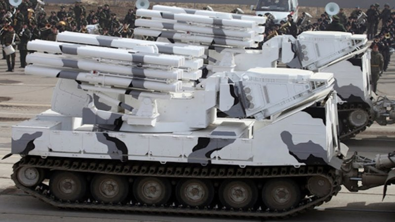 WATCH! RUSSIAN TOR M2DT AIR DEFENSE SYSTEM