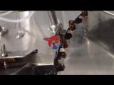 Reliance 4 pump 10ml glass bottle filling sealing machine