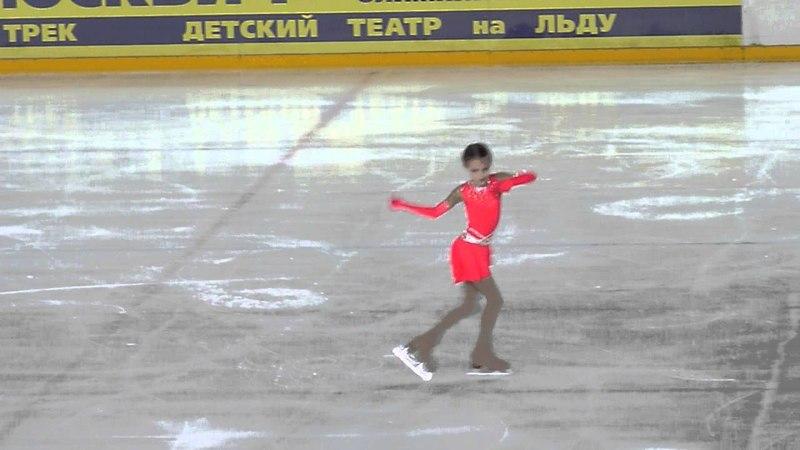 Анна Щербакова КП Первенство Москвы мл возраст 2015