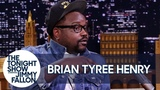Brian Tyree Henry Geeks Out Over the Bee Gees with Jimmy