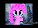 Pinkie Pie My Little Pony 3D Max Model Creating