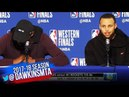 Stephen Curry Kevin Durant Postgame Interview Warriors-Rockets Game 6 2018 WCF FreeDawkins