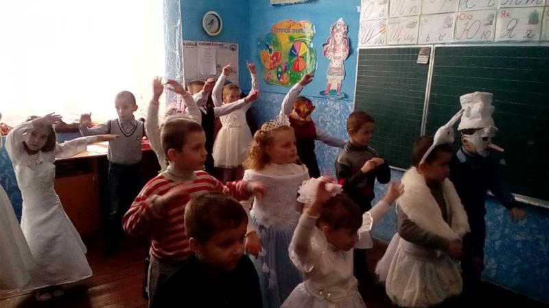 Початкова школа. Танець носса