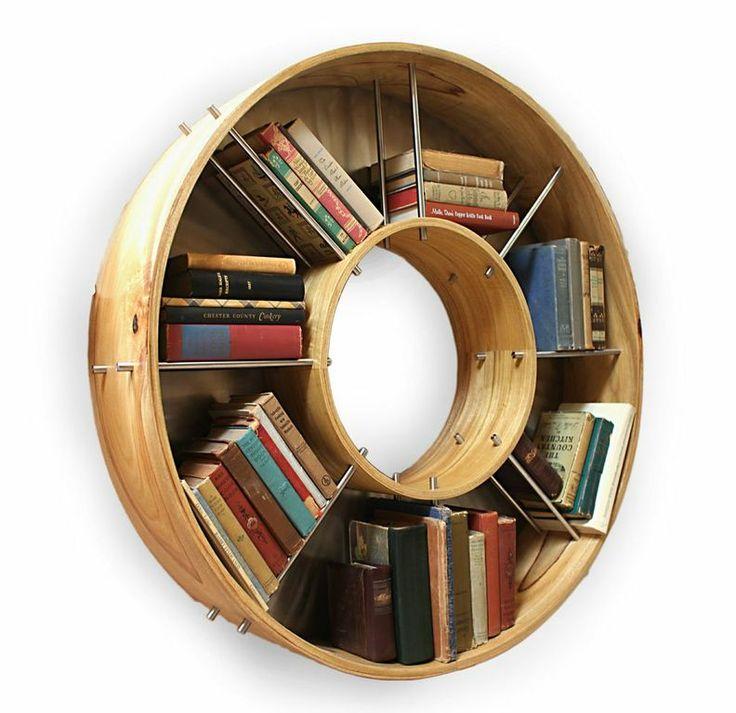 Разместим необычно свои книжные запасы