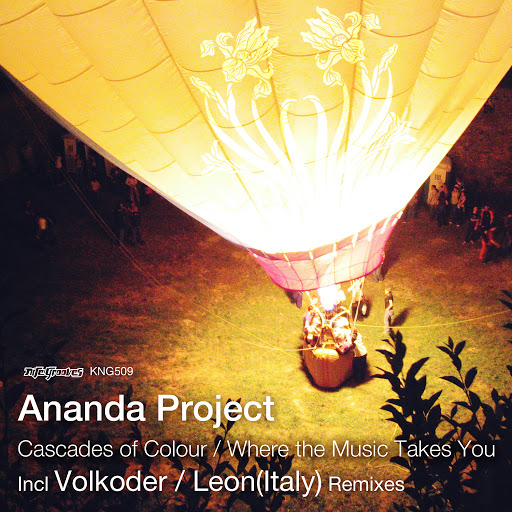 Ananda Project альбом Cascades Of Colour / Where The Music Takes You
