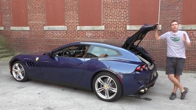 Ferrari GTC4Lusso это горячий хэтчбек за $350 000