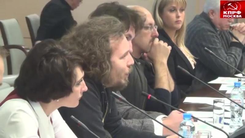Иван Засурский в МГД 03.11.2016