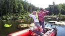Ловля щуки на утёнка! Рыбалка с Агентом Z 🔪 Взял жену на рыбалку и что из этого вышло!