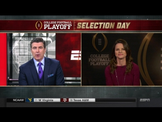 NCAAF 2017 / College Football Playoff Selection Show / 1 / EN
