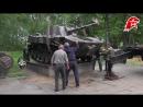 20 07 2018 Установка НОНЫ на мемориале Участникам локальных воин от земляков Киржач