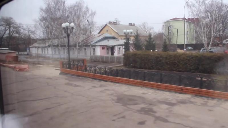 Отправление со станции Тамбов-1. ЮВЖД