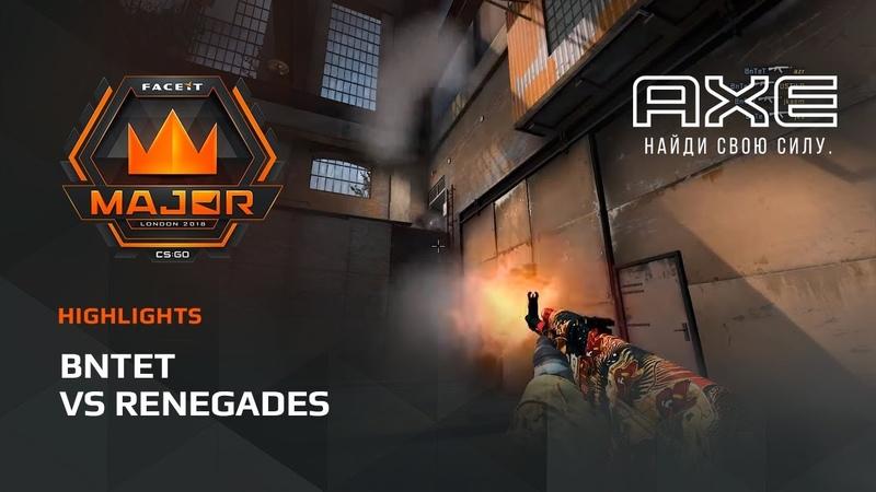 BnTeT vs Renegades, Asia Minor – FACEIT Major 2018