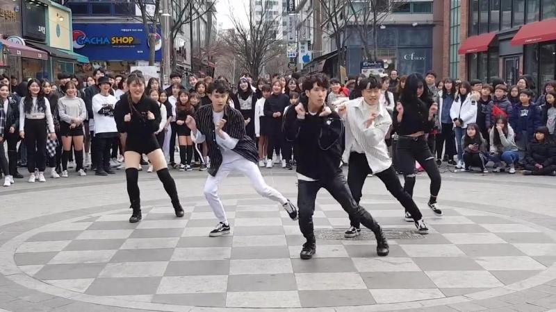 Танцы на улице. GNB댄스학원짱 ♡ 선생님들의 셀럽파이브♡