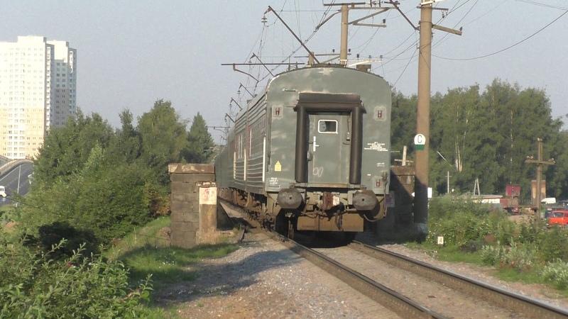 Минус мечта Электровоз ЭП20-017 с фирменным поездом №31 Лев Толстой (Москва - Хельсинки)