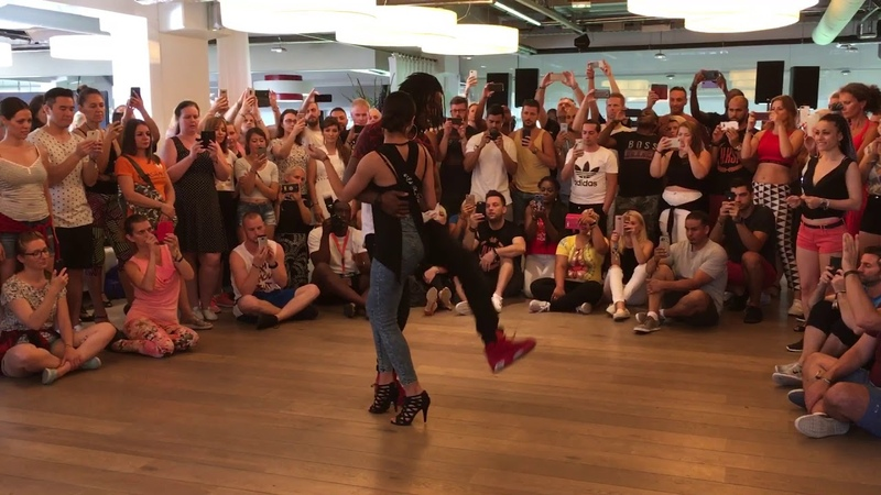 Jojo Tressie playing Kizomba at I Love Kizomba Festival 2018 (Eindhoven)