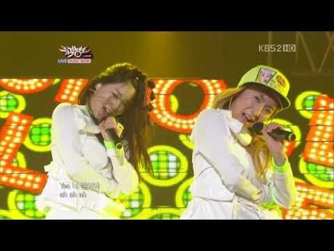 *Full HD* [11.02.25] 5Dolls - I Mean You @ Music Bank