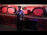 Joyce Ormela Harris Sings Taxi Driver at Naresa Palace filmed by jonfromqueens