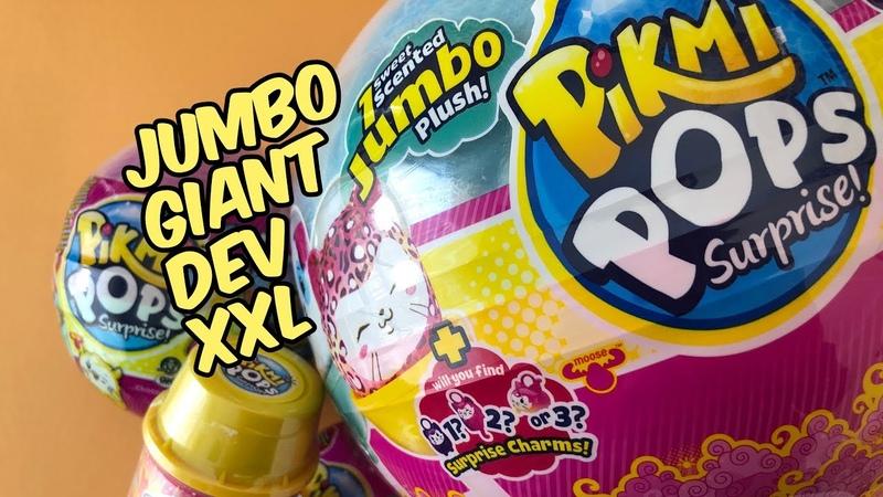 Pikmi Pops Sürpriz Lolipop Açılımı, Pushmi Ups, Dev Lolilop Jumbo Pikmi Pops 1
