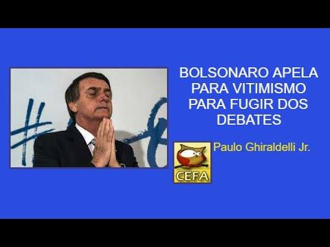 Qual a razão real de Bolsonaro evitar o debate