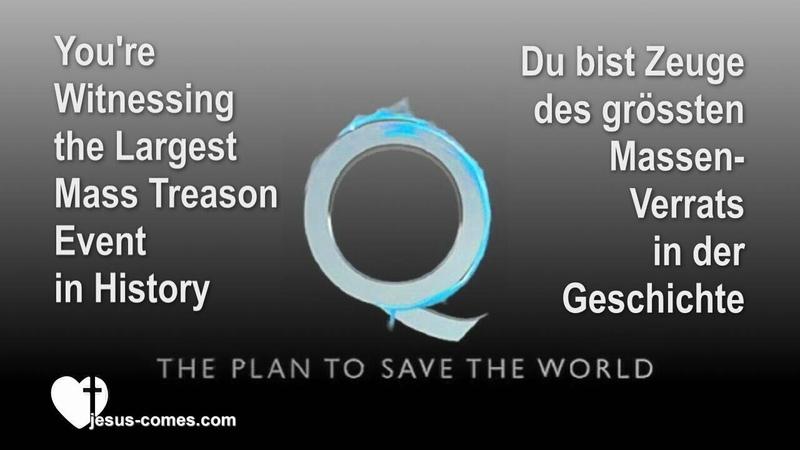 EN DE ... WHO IS Q - WER IST Q ? ❤️ THE PLAN TO SAVE THE WORLD - DER PLAN, DIE WELT ZU RETTEN