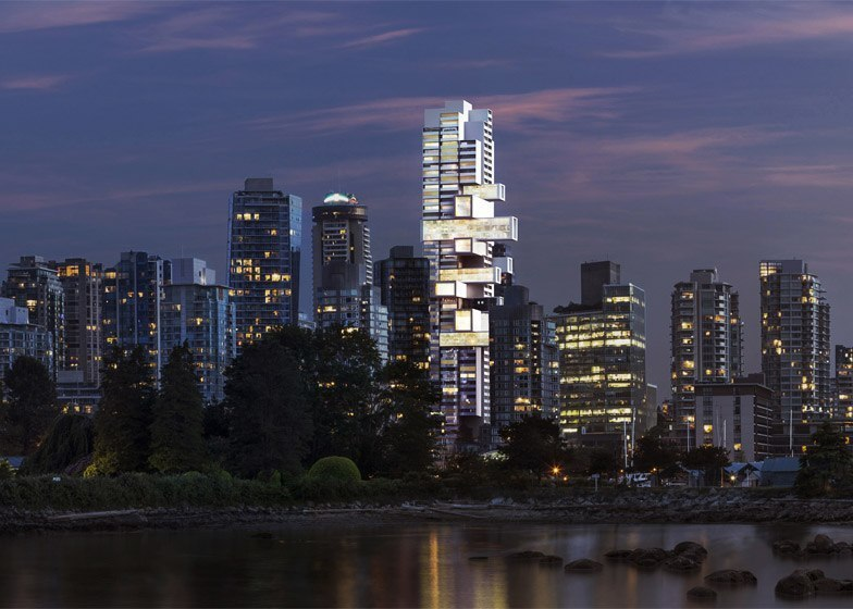 Ole Scheeren's Vancouver skyscraper will offer a «new typology for vertical living»