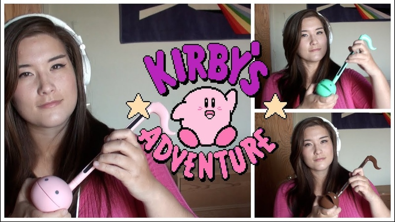 Kirbys Adventure - Ice Cream Island - Otamatone (Sweets) Cover || mklachu