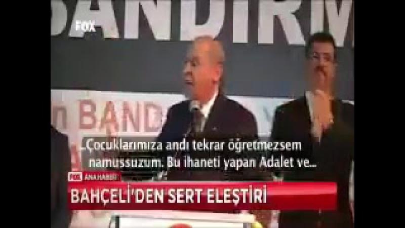 Türkiye namussuz görsün Ben demiyorum kendi diyor