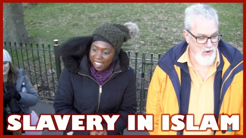 Fearless Christian Sister Tells Muslims the Truth about Slavery in Africa
